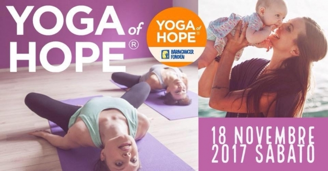 YOGA of HOPE - Evento globale di beneficenza - 18 novembre 2017 - YOGA of HOPE - Centro Pilates Yoga Roma